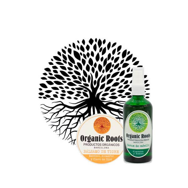 logo organic roots productes